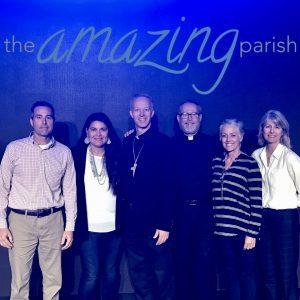 the amazing parish and parish leadership team