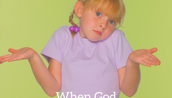 When God Doesn't Make Sense: Suffering