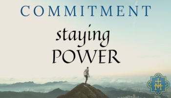 Staying Power, Week 1: Commitment