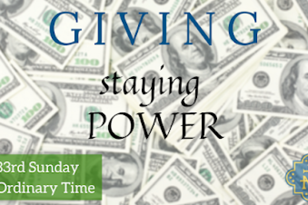 Staying Power: Tithing and Giving