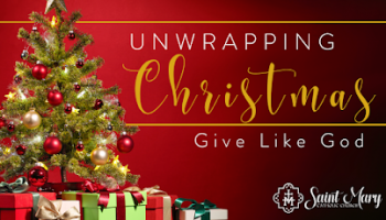 Unwrapping Christmas: Give Like God