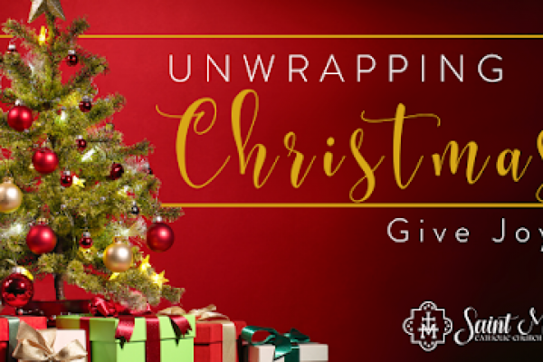 Unwrapping Christmas: Give Joy