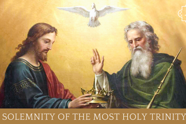 Next Door II – What's in a name?  Trinity Sunday